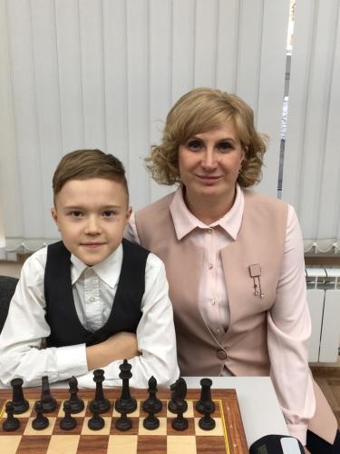 Лидия Батюкова и Максим Волков